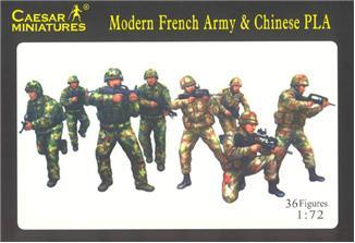 059 - Modern French Army & Chinese PLA 1/72