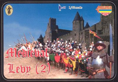 M006 - Medieval Levy (2) 1/72