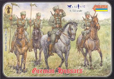 060 - WW1 German Hussars 1/72