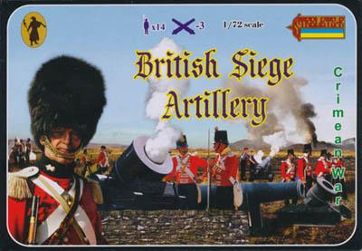 062 - Crimean War British Siege Artillery 1/72