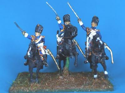 JS72/0660 - Grenadiers à cheval 1/72
