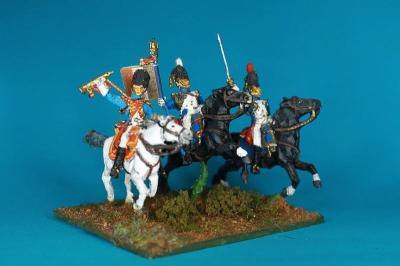 JS72/0661 - Grenadiers à cheval Commandement 1/72