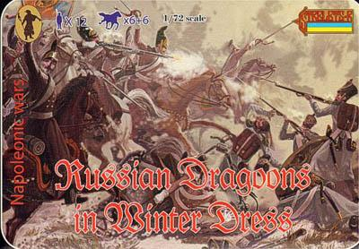 067 - Russian Dragoons in Winter Dress 1/72
