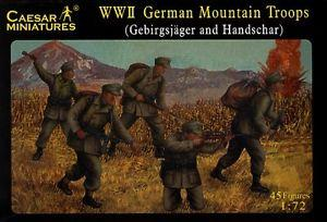 067 - WW2 German Mountain Troops 1/72