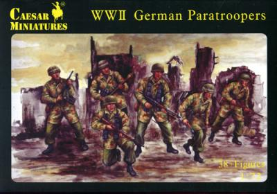 068 - WWII German Paratroopers 1/72