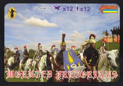 069 - Mounted Praetorians 1/72