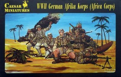 070 - WWII German Afrika Korps 1/72