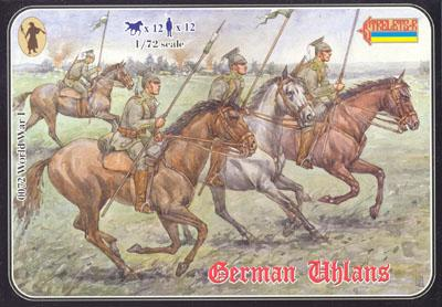 072 - WW1 German Uhlans 1/72