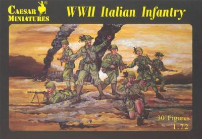 072 - WWII Italian Infantry 1/72