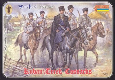 073 - Kuban\Terek Cossacks 1/72