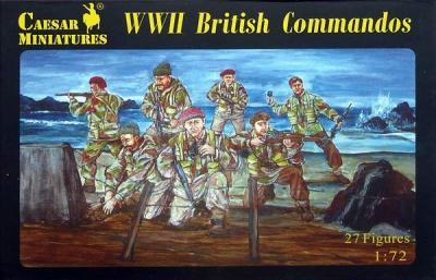 073 - WWII British Commandos 1/72