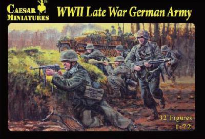 074 - WWII Late War German Army 1/72