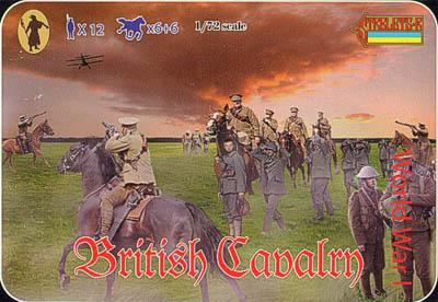 075 - WW1 British Cavalry 1/72