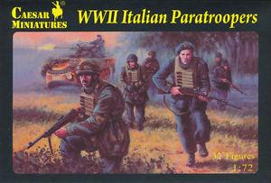 075 - WWII Italian Paratroopers 1/72
