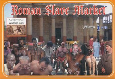 076 - Roman Slave Market 1/72