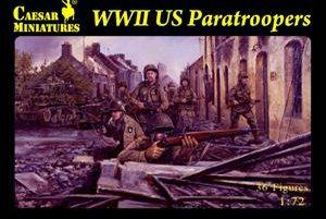 076 - WW2 US Paratroopers 1/72
