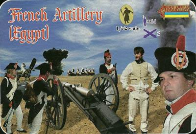 078 - French Artillery in Egypt 1/72