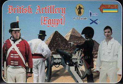079 - British Artillery in Egypt 1/72