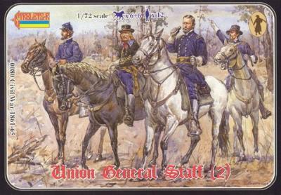 080 - Union General Staff (2) 1/72