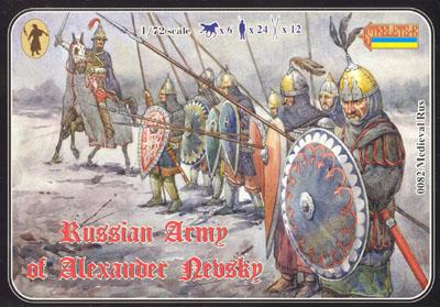 082 - Russian Army of Alexander Nevsky 1/72