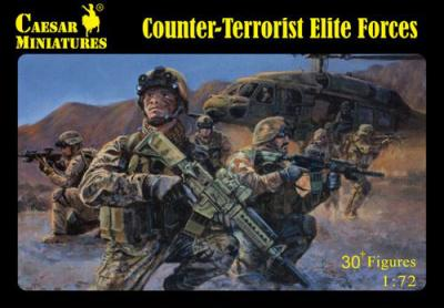 082 - Counter-Terrorist Elite Forces 1/72