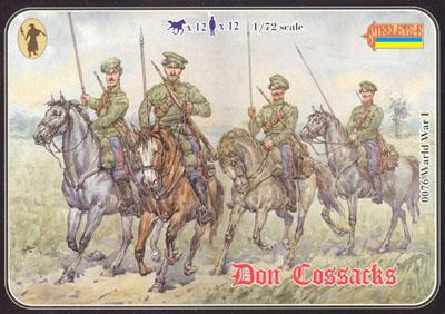 083 - WW1 Don Cossacks in Summer Dress 1/72