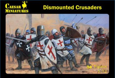 086 - Dismounted Crusaders 1/72