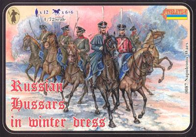 087 - Russian Hussars in Winter Dress 1/72