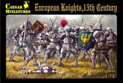 091 - European Knights, 15th Century 1/72