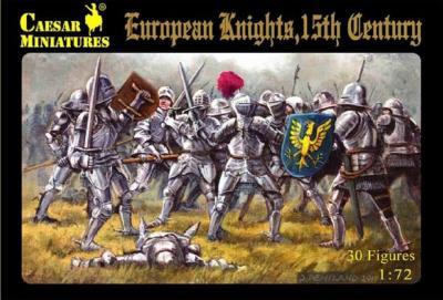 091 - European Knights, 15th Century 1/72