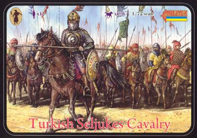 093 - Turkish Seljukes Cavalry 1/72