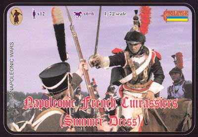 094 - Napoleonic French Cuirassiers (Summer Dress) 1/72