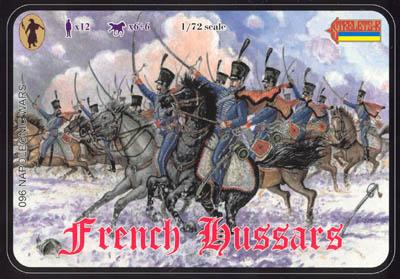 096 - French Hussars 1/72