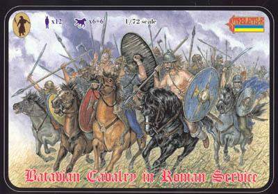 097 - Batavian Cavalry in Roman Service 1/72
