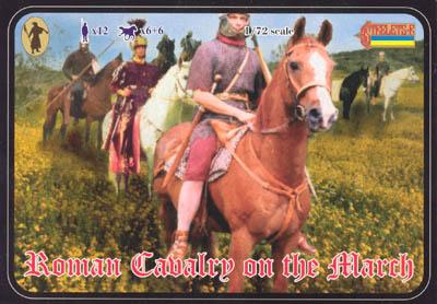 099 - Roman Cavalry on the March 1/72