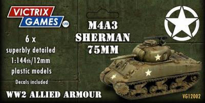 VG12002  VICTRIX GAMES - SHERMAN M4A3- DUE SOON