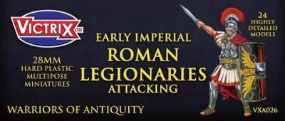 VXA026 28mm Roman Legionaries Attacking