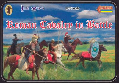 100 - Roman Cavalry in Battle 1/72