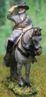 JS72/1001 - Général Lee à cheval 1/72