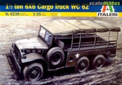 I6230 1,5 ton 6x6 Cargo Truck WC 62 1/35