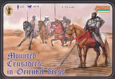 104 - Mounted Crusaders in Oriental Dress 1/72