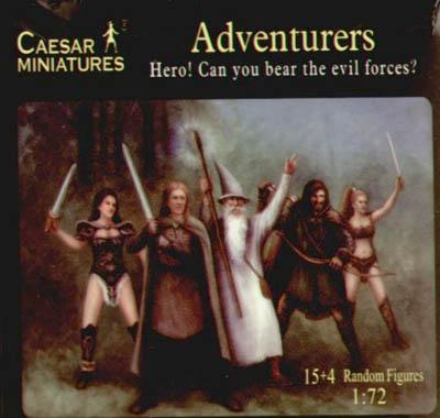 104 - Adventurers 1/72