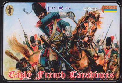 106 - French Early Carabiniers 1/72