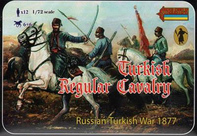 110 - Russo-Turkish war 1877 Turkish Regular Cavalry 1/72