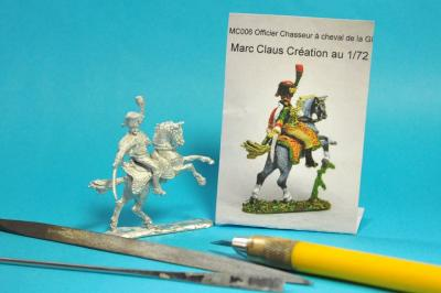MC006 - Officier des Chasseurs de la Garde Impériale 1/72