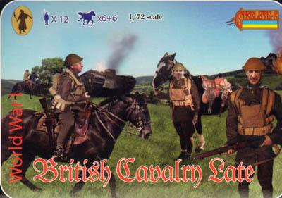 114 - WW1 British Cavalry (Late War) 1/72