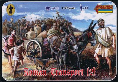117 - Roman Transport (2) 1/72