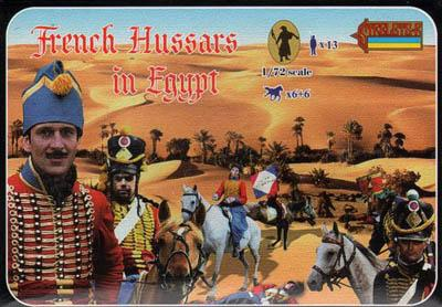 118 - French Hussars in Egypt 1/72