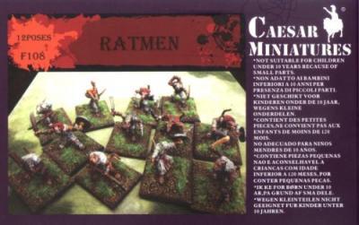 108 - Ratmen Warriors 1/72