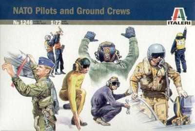 1246 - NATO Pilots and Ground Crews 1/72